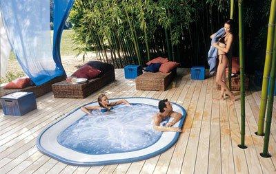 minipiscine spa idromassaggio Jacuzzi Sienna Experience