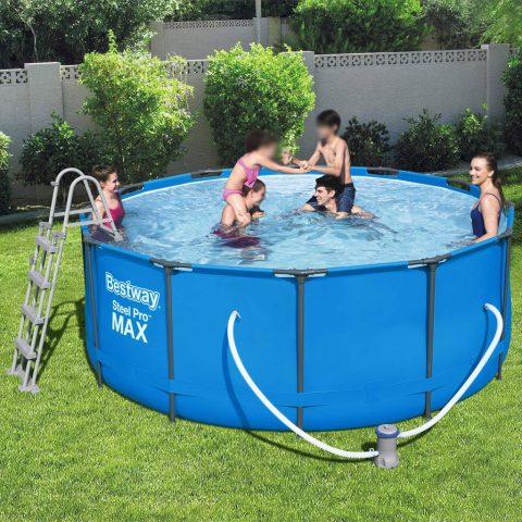 piscina fuori terra Bestway rotonda Steel Pro MAX