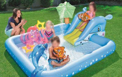 piscina gonfiabile per bambini Bestway acquario