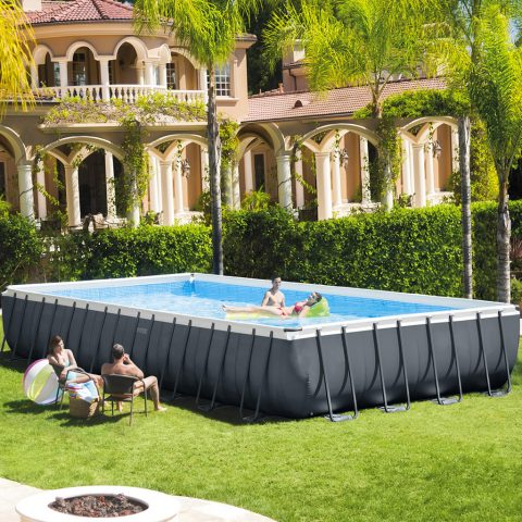piscina Intex fuori terra Ultra XTR Frame rettangolare