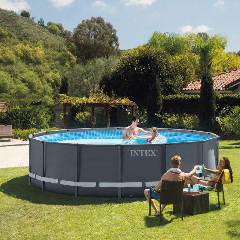 piscina intex fuori terra Ultra XTR Frame rotonda