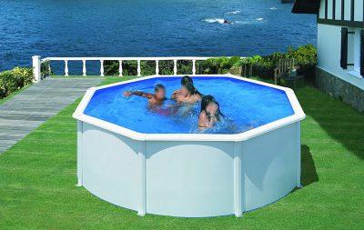 piscine fuori terra rigide Gre rotonde bianca