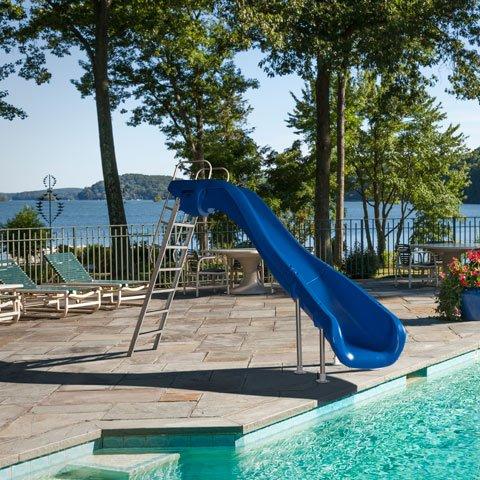 scivolo per piscine