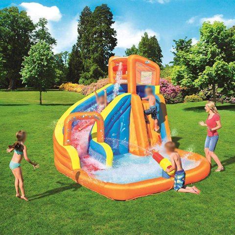 parco acquatico gonfiabile turbo splash constant air Bestway